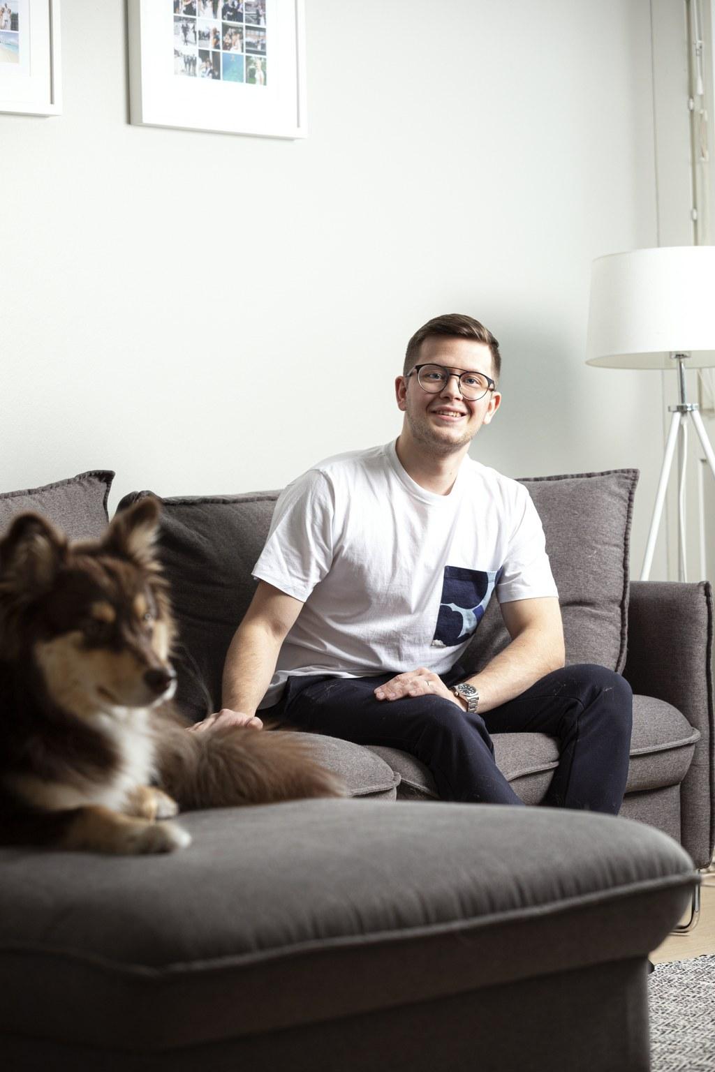 Tomi Heikkinen arvostaa isoja huoneita